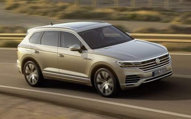 Гудбай, Америка: представлен VW Touareg третьего поколения