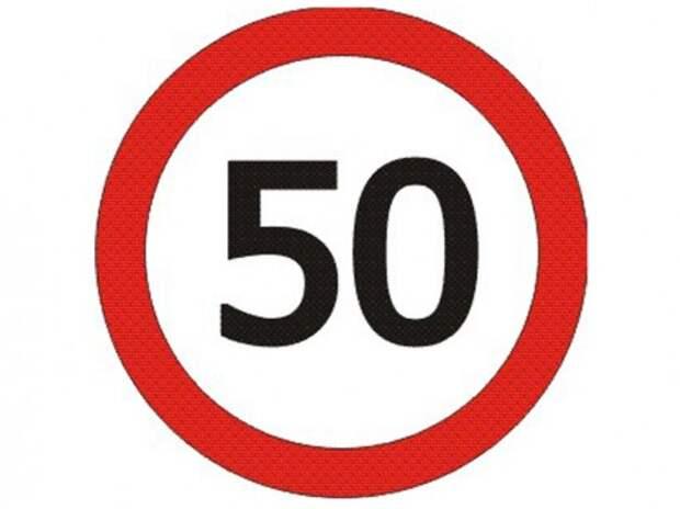 Общественная палата предлагает снизить скорость в населенных пунктах до 50 км/ч