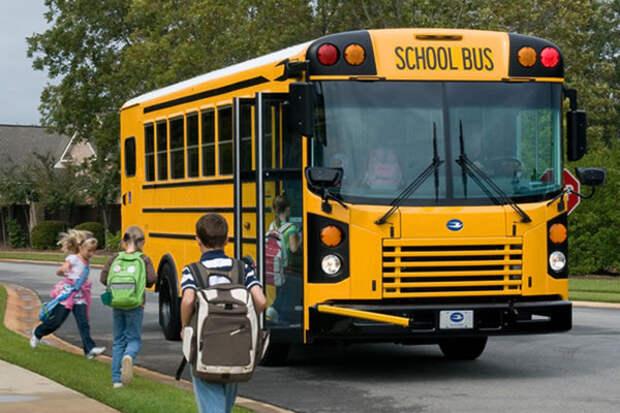 Факт, который вы, возможно, не знали о школьных автобусах в США школьный автобус, США, факты, Продуманно