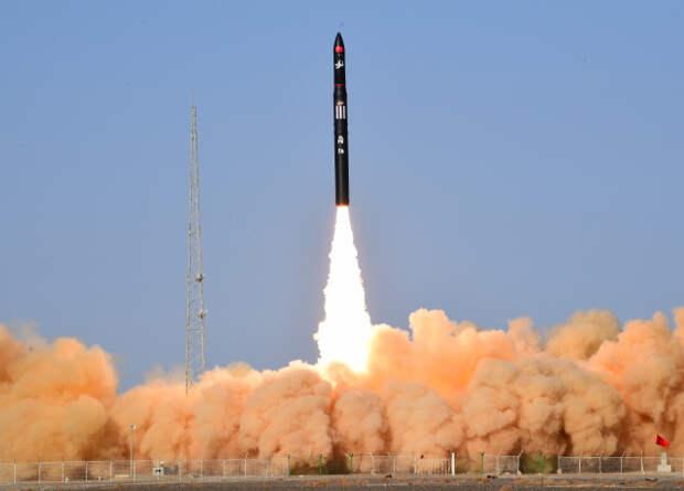 Китайская частная ракета Ceres-1 совершила первый полет