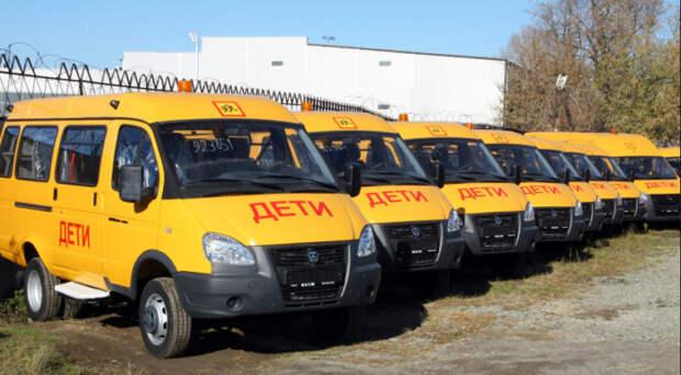 Более 60 автобусов для перевозки детей поступит в школы Новосибирской области до конца года