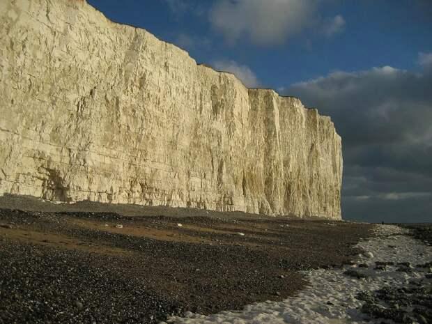 Меловые скалы в графстве Суссекс