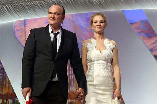 Квентин Тарантино и Ума Турман. / Фото www.lukinews.ru
