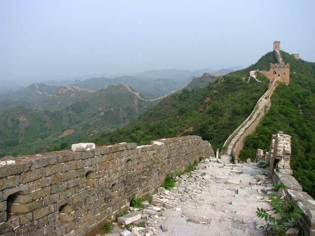Великая Китайская стена: удивительные факты об одном из самых грандиозных сооружений планеты