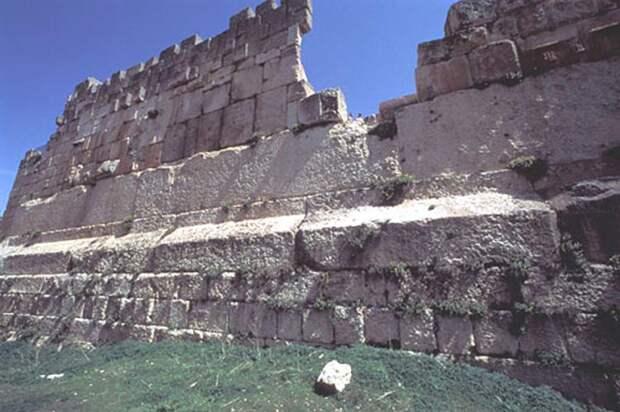 трилитон - самые большие блоки в мире