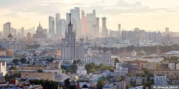 Саркози дал высокую оценку происходящим в Москве изменениям. Фото: М. Денисов mos.ru