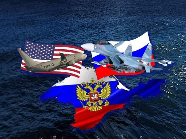 """США заявили о """"недопустимо жестких"""" действиях России - Россия не позволила самолету США нарушить границу над Черным морем"""