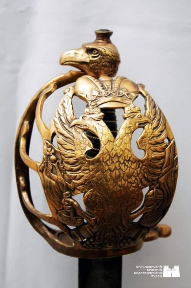Палаш кирасирский гвардейский, конец XVIII – начало XIX в.