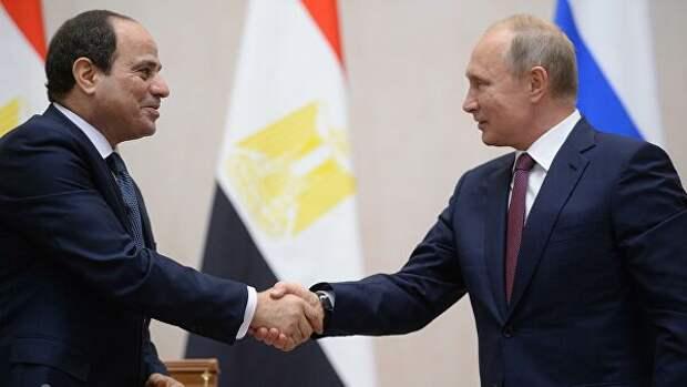 Президенты России иЕгипта утвердили возобновление полноформатного авиасообщения