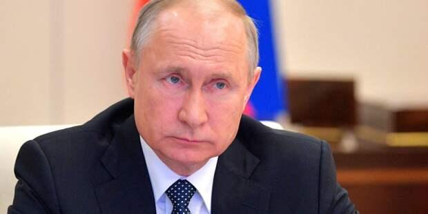 Путин пообщался с Совбезом