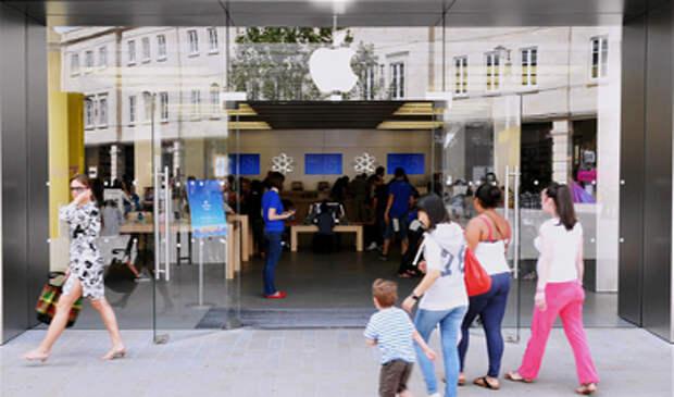 Доля работающих в компании Apple женщин составляет 30%