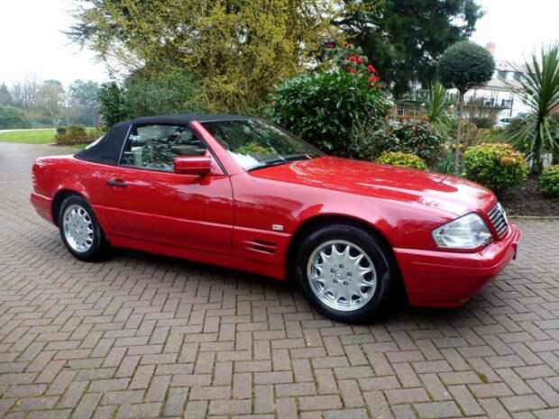Женщина потеряла ключи от нового Mercedes-Benz и он простоял 20 лет mercedes-benz, sl500, родстер
