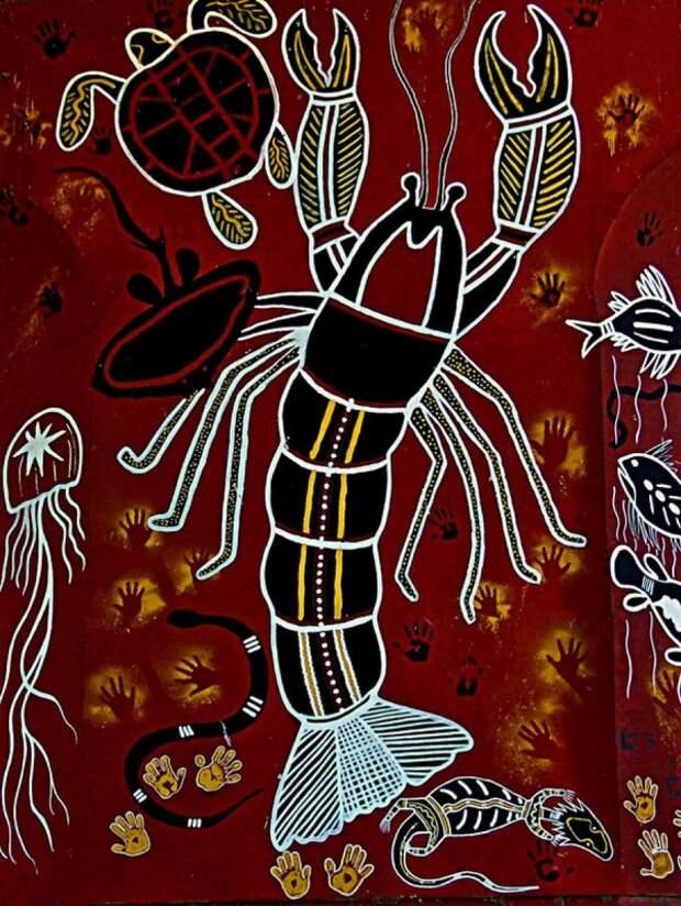 Искусство аборигенов Австралии. Идеи для творчества