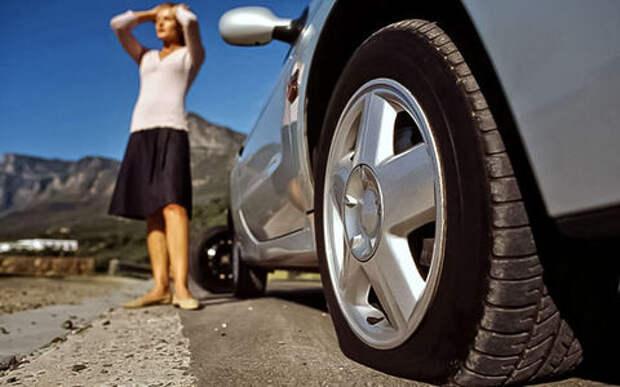 Давление в шинах: ваша норма