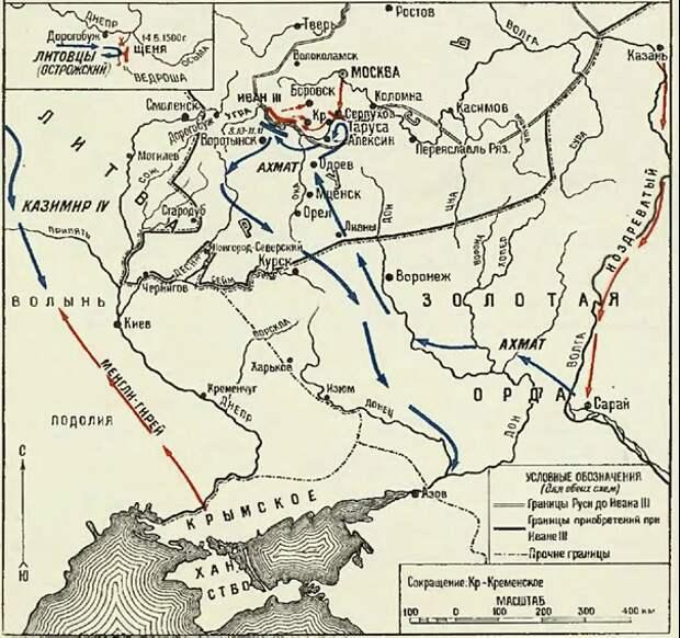 Политика Ивана III на Востоке