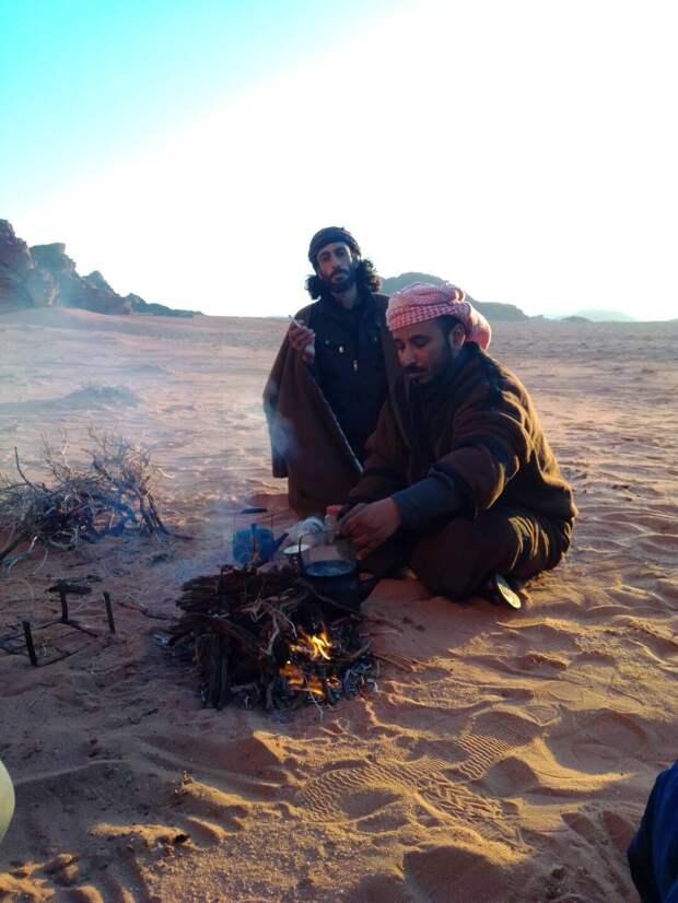 бедуины пустыни Вади-Рам