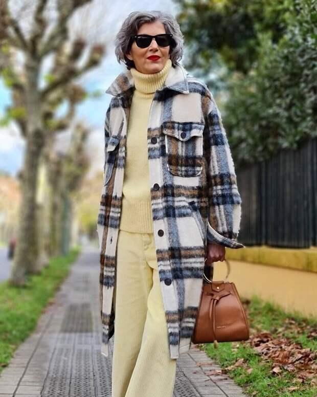 Что выбрать на весну модной женщины 50+