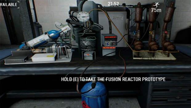 Поиск термоядерного реактора PayDay 2