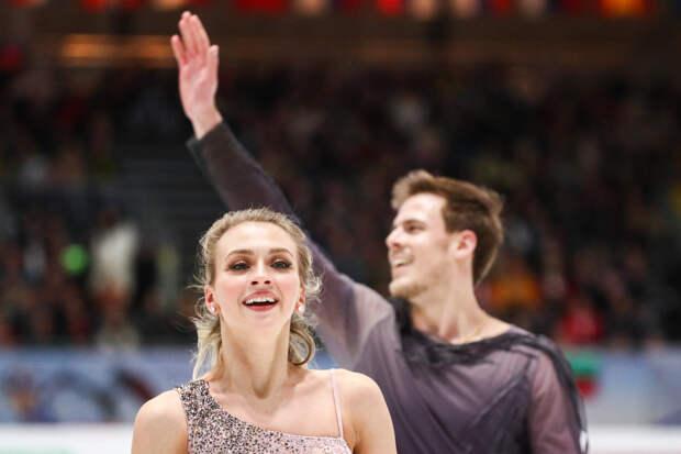 Синицина - Кацалапов выиграли для России третье золото ЧЕ