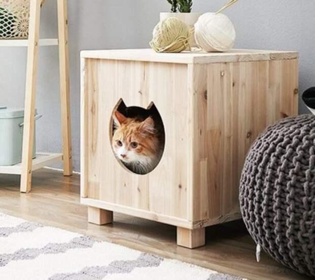 домики для домашних животных