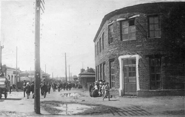 1927. Улица к рынку история, ретро, фото