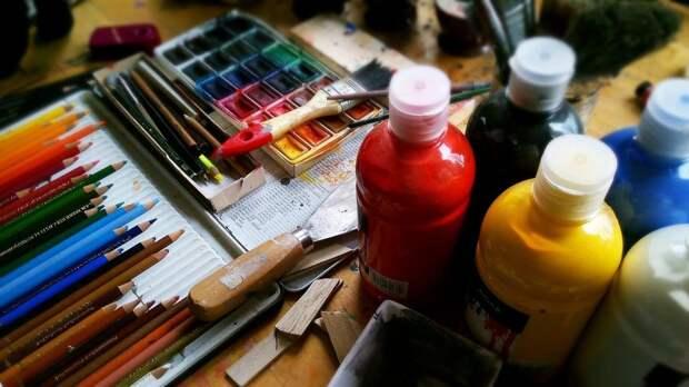 Клуб «Огонёк» проведет мастер-класс по рисованию