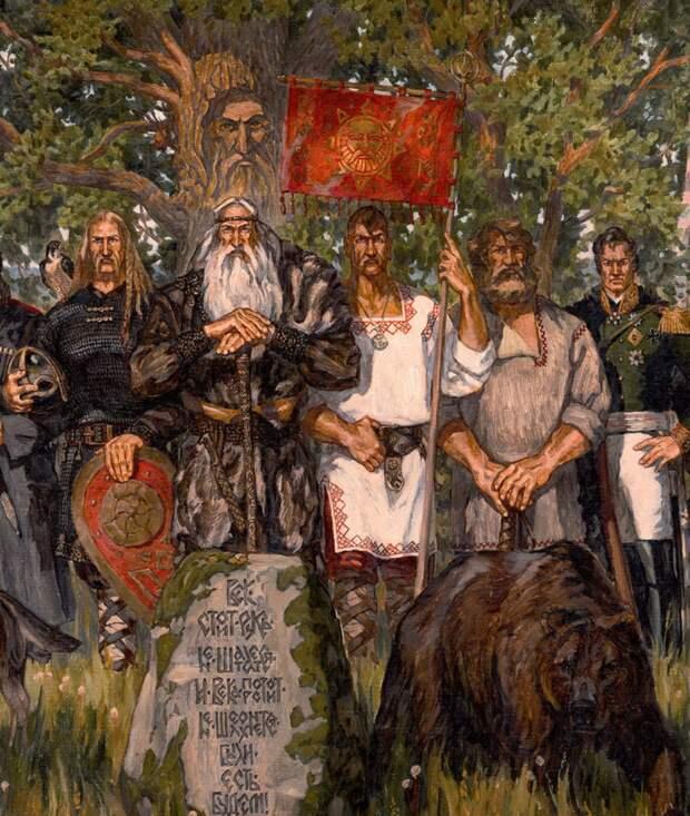 Русский Дух 21 века. Оживающая сказка художника Максима Кулешова, фото № 13
