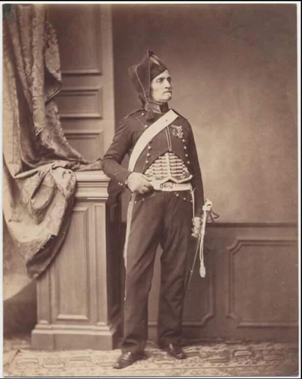 Месье Шмит, второй кавалерийский полк 1813-1814 гг. Фото: Brown University Library.