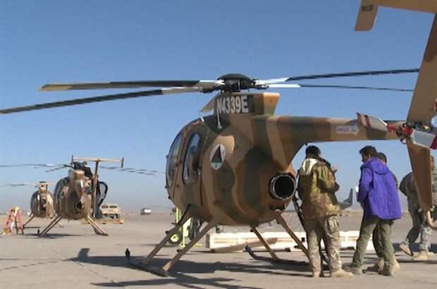 500 афганских военных летчиков отправятся в Катар