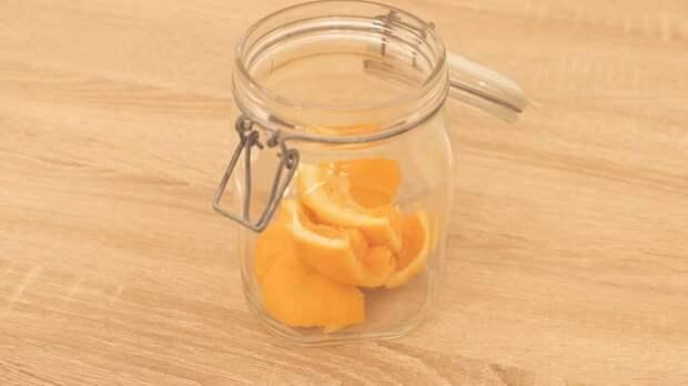 Апельсиновые и лимонные корки для создания чистоты и свежести в доме
