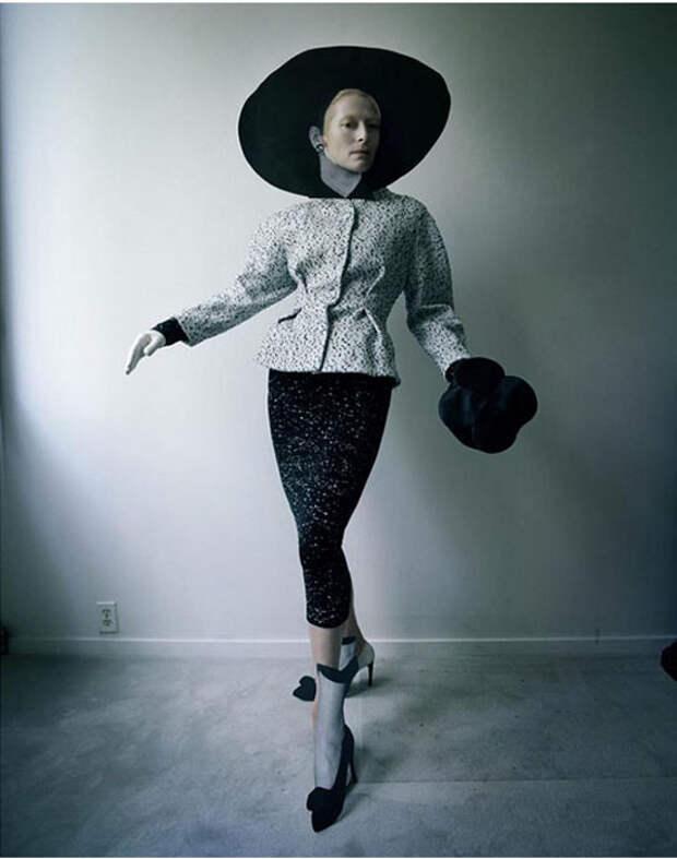 Тильда Суинтон на фотографиях Тим Уокера.