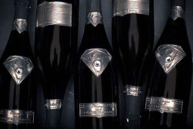 10 самых дорогих бутылок шампанского насегодняшний день