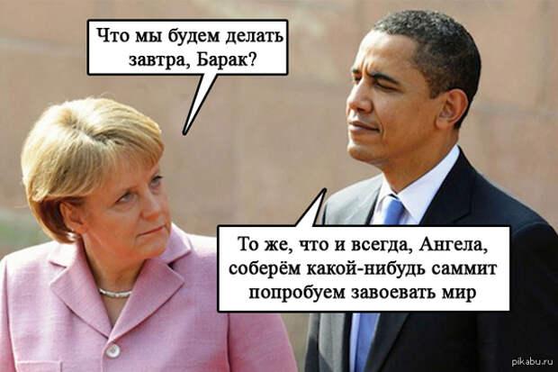 """Санкционный """"натиск на Восток"""": США и Германия договорились давить Россию дальше. Греки взбунтовались"""