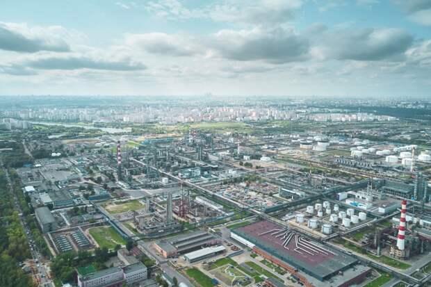 Московский НПЗ превращается в одно из лучших европейских предприятий