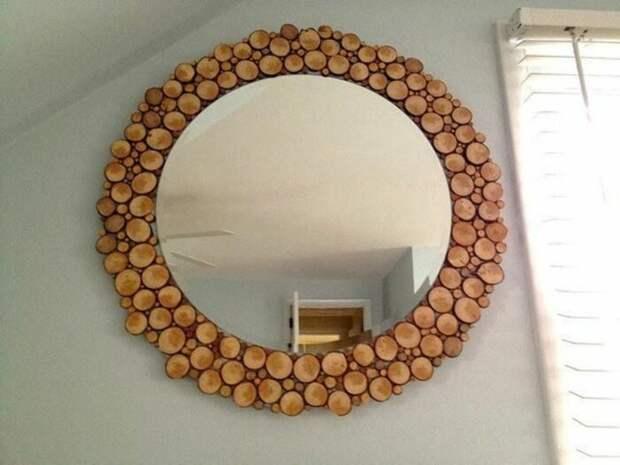 Идеи стильного оформления дачи и жилых помещений с использованием спила дерева