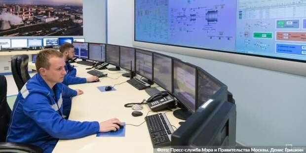 Собянин проверил готовность энергосистемы и ЖКХ Москвы к сильным морозам. Фото: Д. Гришкин mos.ru