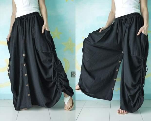 Юбки-брюки