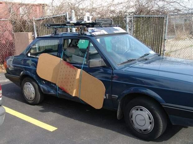 Мораль такова: не бойтесь чинить свои машины  авто, прикол, ремонт