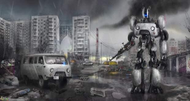 Как бы выглядели трансформеры в России? 6 забавных рисунков