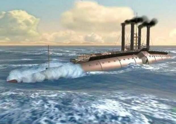 Фото: корабль сигара Уайнансов