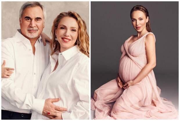 Валерий Меладзе и Альбина Джанабаева в третий раз стали родителями