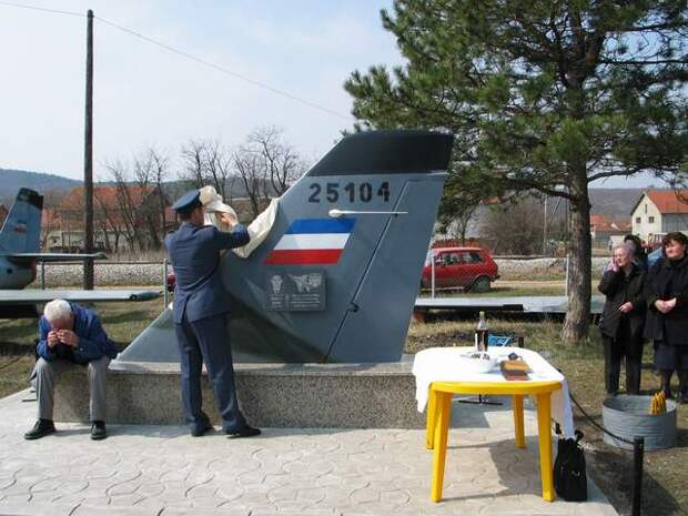 Сербские соколы - сломанные крылья