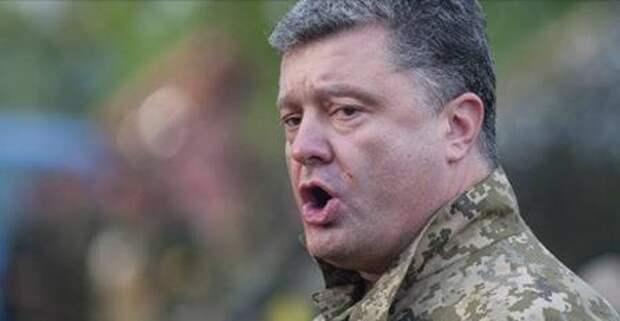 Пётр Порошенко намерен в ближайшее время спеть гимн Украины в Донецке