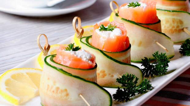 Рецепты Маргариты Симоньян: Закуска с лососем