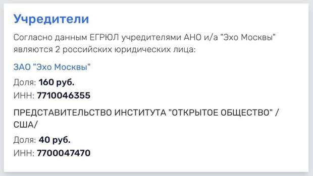 «Эхо Москвы» – последний заповедник русофобии и кандидат в иноагенты