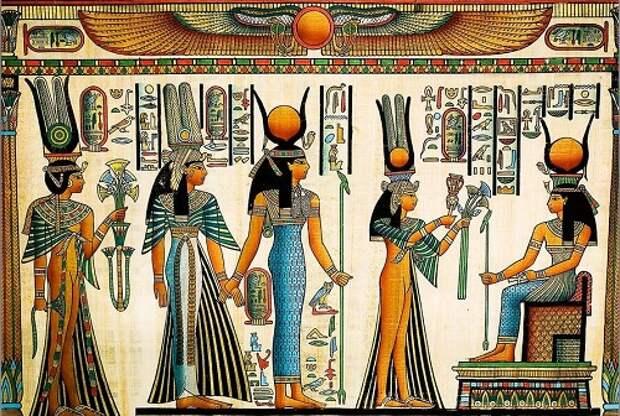 Жрецы Египта: атланты в пространстве и времени