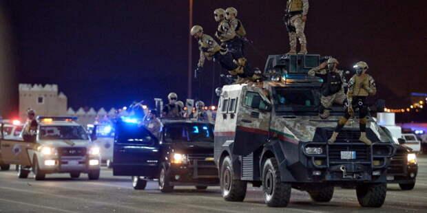 Женщины-военные в Саудовской Аравии впервые приняли участие в параде