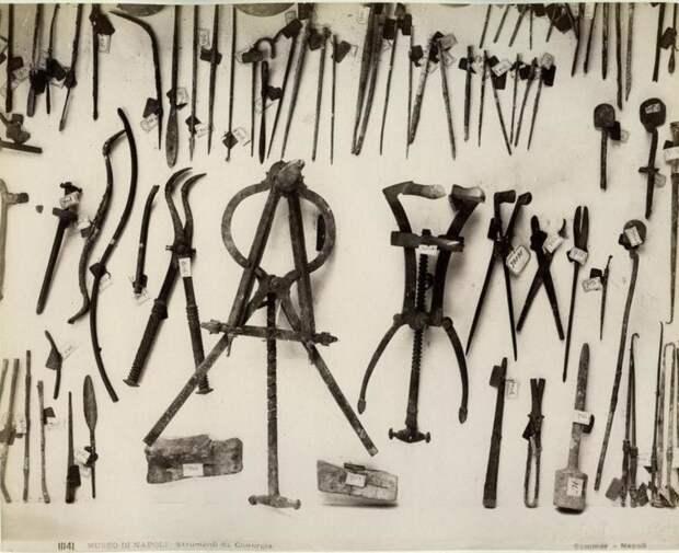 Римские хирургические инструменты
