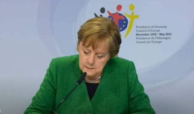 Меркель: Газ по«Северному потоку-2» еще непошел, ноонуже нехуже другого газа изРФ
