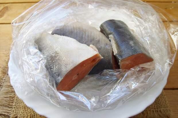 Как засолить замороженную горбушу